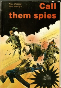 "Cover of Basson & Motinga ""Call Them Spies"" (1989)"